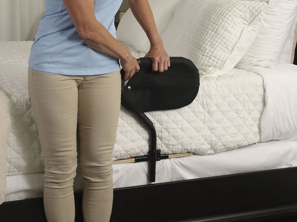 Stander Bed Cane Adult Bedside Rail And Safety Support Handle